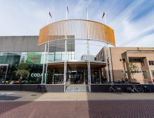 Nieuwe entree en balie Coda Museum